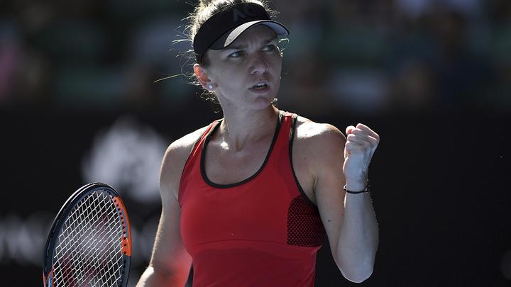 Симона Халеп вышла в финал турнира в Праге, где сыграет с Бертенс