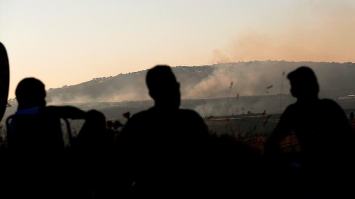 Израиль ведет массированный обстрел сектора Газа