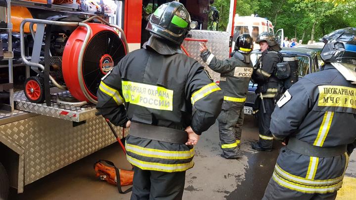Сильный пожар в общежитии медицинского вуза: подробности