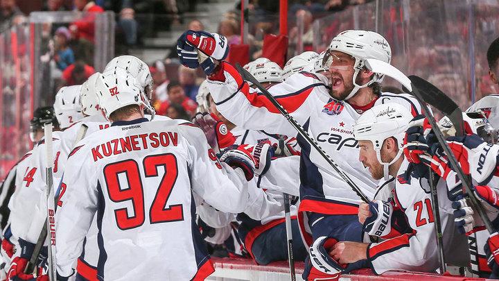 """НХЛ. Овечкин и Кузнецов забили, """"Вашингтон"""" выиграл"""