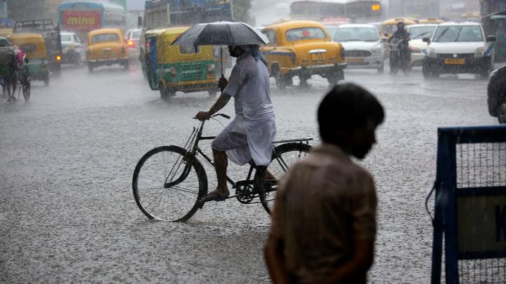 В Индии не менее 10 человек стали жертвами ливней
