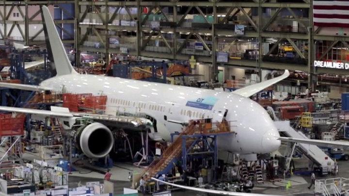 Вирус WannaCry нарушил работу конвейера по сборке самолетов Boeing