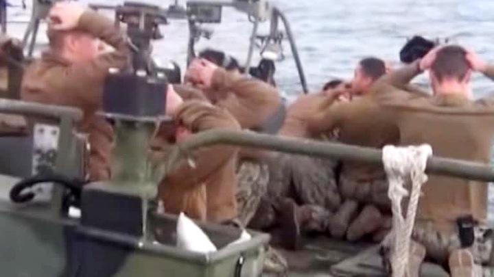 Освобождение американских моряков: подробности происшествия в Персидском заливе