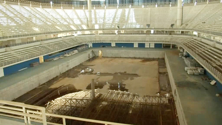 За полгода все олимпийские объекты Рио вышли из строя