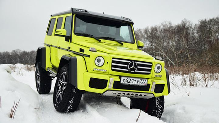 Экстремальный Mercedes G 500 4x4 уходит на покой — Авторевю