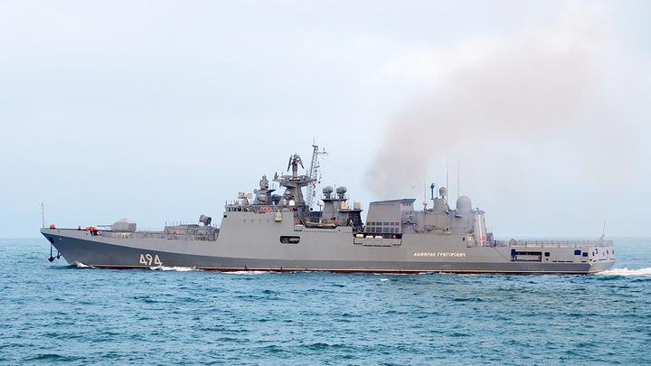 Боевой российский корабль впервые вошел в порт Судана