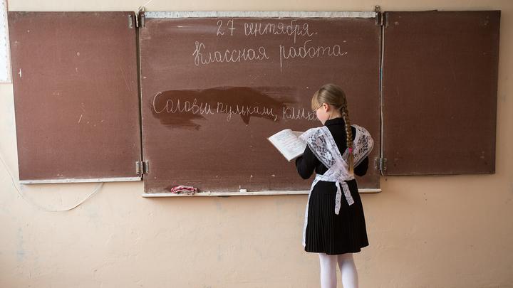 Нарисовавшая двойку на лбу школьницы учительница уволилась