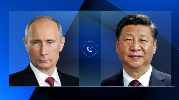Путин поздравил Си Цзиньпина по случаю столетия создания партии