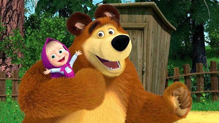 """Мультсериал """"Маша и Медведь"""" стал самым популярным детским шоу в мире"""