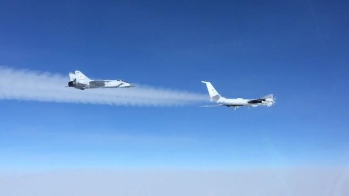 Боевые самолеты дозаправились в Арктике