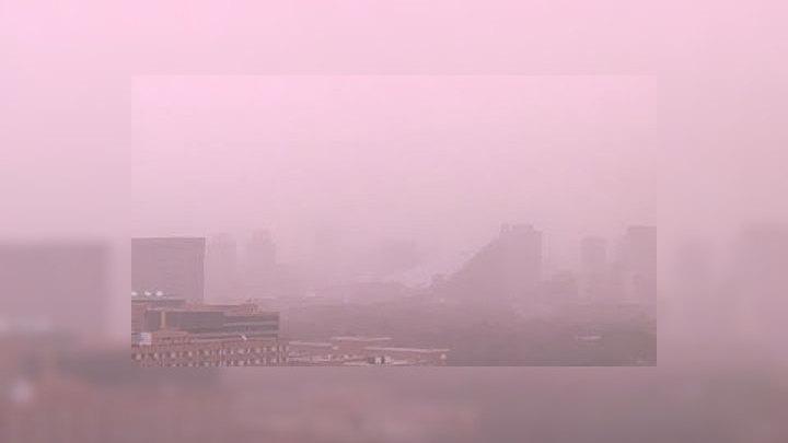 Столицу Китая вновь накрыл пылевой фронт