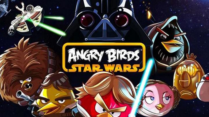 """Angry Birds вылетают в галактику """"Звездных войн"""""""