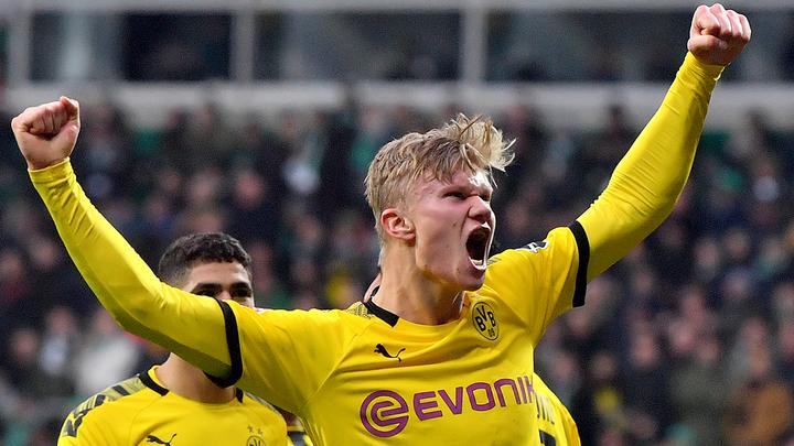 Холанд получит награду лучшему молодому футболисту Европы