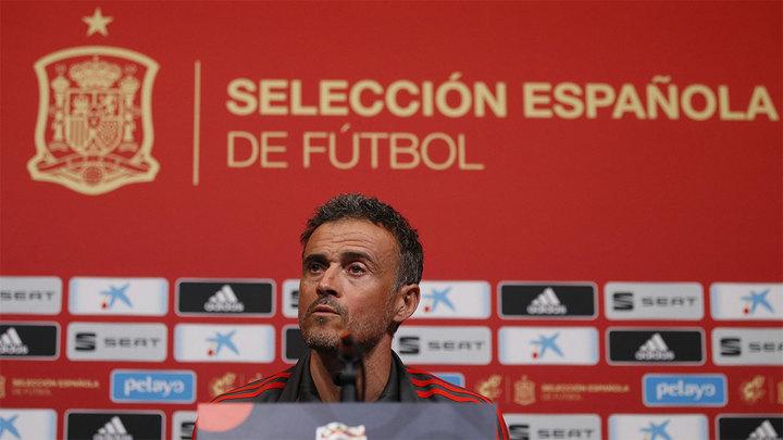 Луис Энрике: у меня нет претензий к игрокам Испании, только похвала