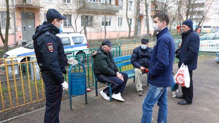 Москвичам опять разрешили сидеть на лавочках
