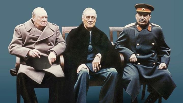 """Росархив представил проект """"Сталин-Черчилль-Рузвельт: совместная борьба с нацизмом"""""""