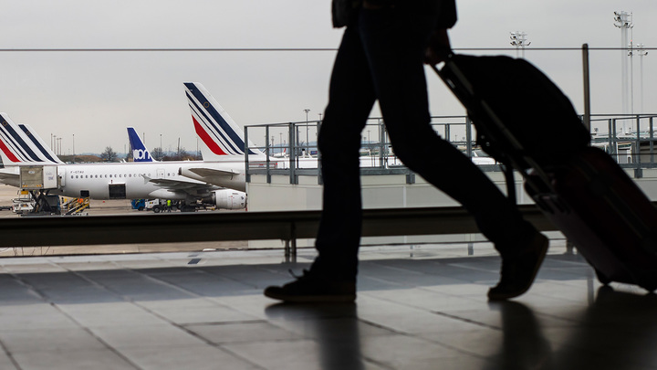 Отменен еще один рейс Air France из Парижа в Москву