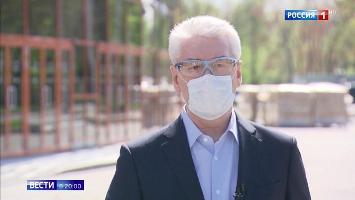 Мэр Москвы о масках: это мало кому нравится, но дает результат