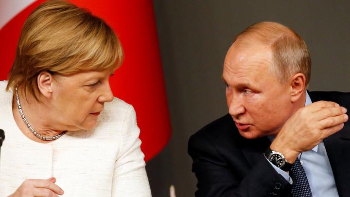 Стало известно о разговоре Путина и Меркель на повышенных тонах