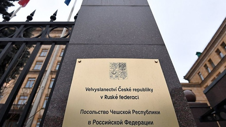 20 сотрудников посольства Чехии в Москве объявлены персонами нон грата