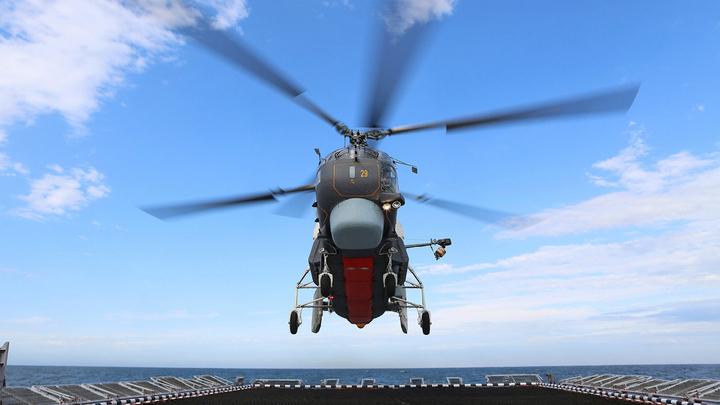 На Балтике начались соревнования на вертолетах