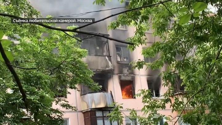 ЧП на северо-востоке Москвы: что стало причиной пожара