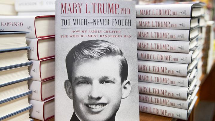 Скандальная книга племянницы Трампа раскуплена в первый же день