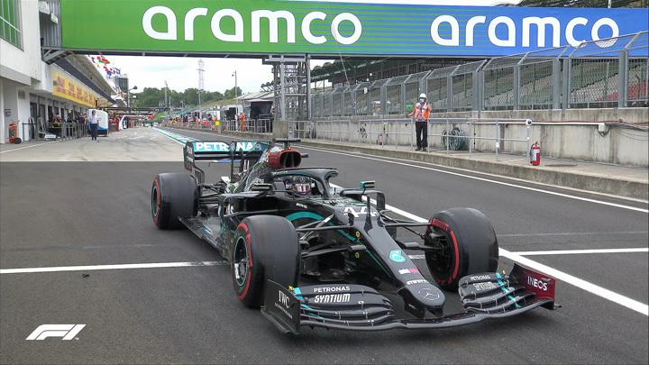 Гран-при Венгрии. Хэмилтон стал лучшим в первой практике