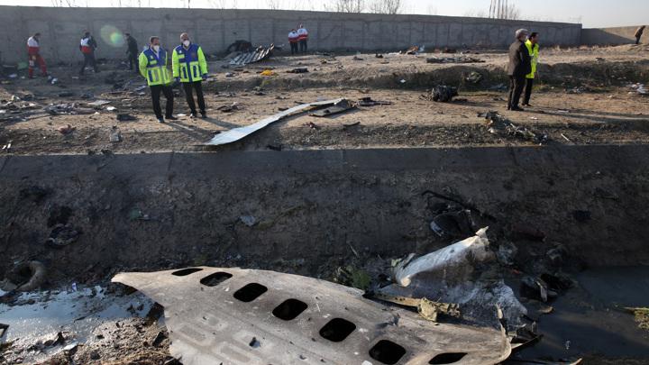 В Париж доставлены черные ящики со сбитого в Иране украинского самолета