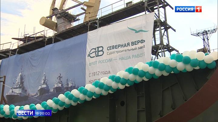 Оружие будущего. В России заложили уникальные боевые корабли