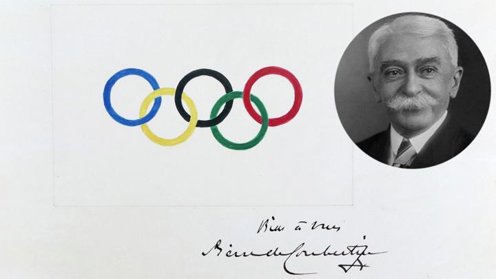 Олимпийские кольца де Кубертена проданы на аукционе за 185 тысяч евро