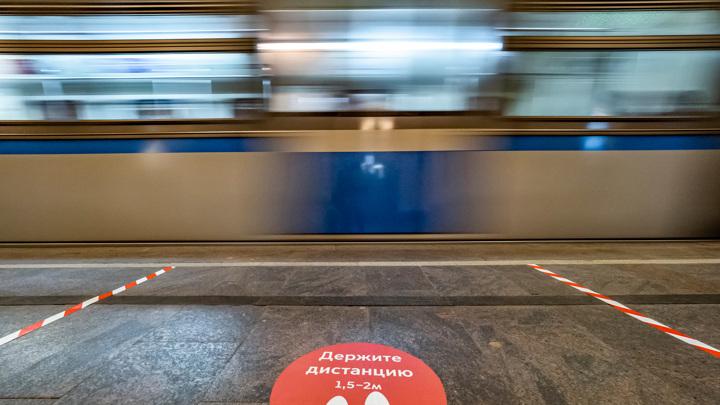 На фиолетовой ветке московского метро остановились поезда