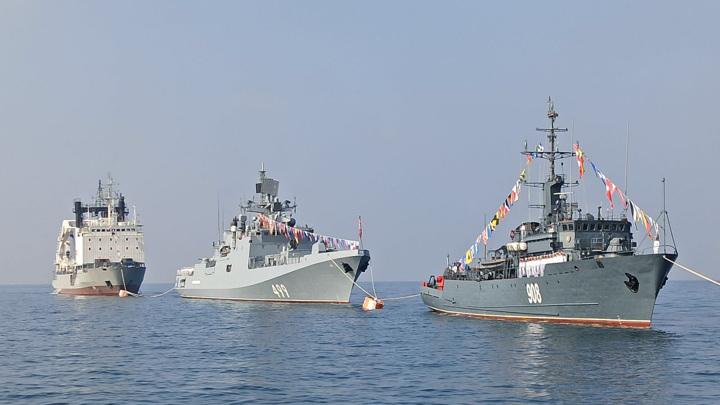 В Сирии прошел парад в честь Дня ВМФ России