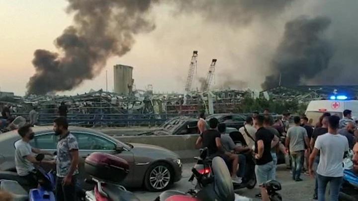 Взрыв аммиачной селитры в Бейруте произошел во время ремонтных работ