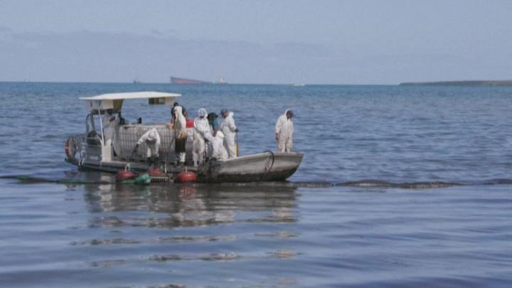 На Маврикий прибыли эксперты ООН для ликвидации последствий утечки нефти