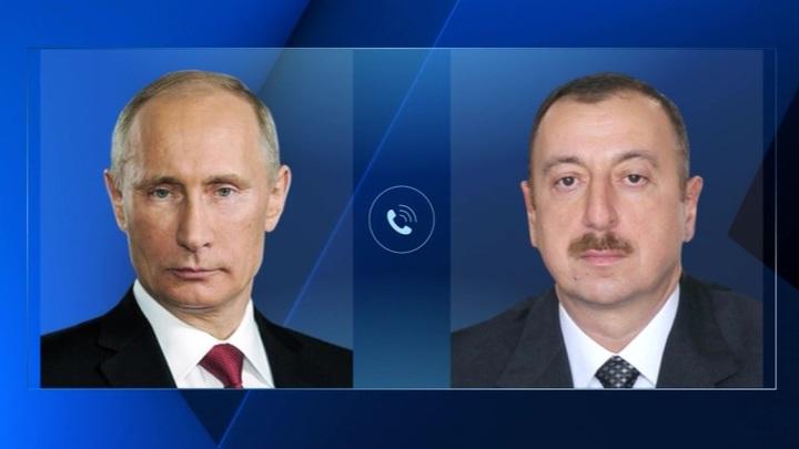 Путин побеседовал с Алиевым и Жапаровым