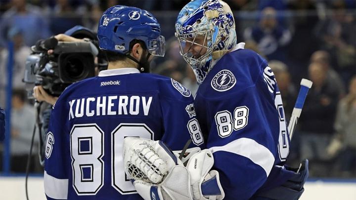 Три россиянина вошло в топ-10 лучших хоккеистов НХЛ