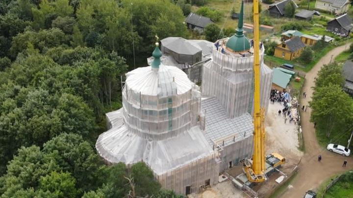 В деревне Сопины восстанавливают храм, который основал полководец Суворов