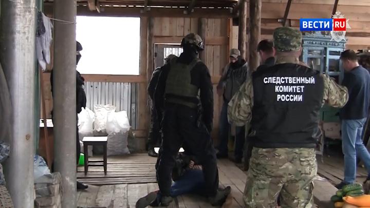 Опубликовано видео задержания серийного насильника под Томском
