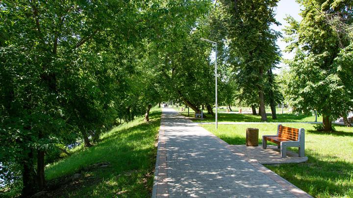 Девять прогулочных зон появятся на территории Череповца