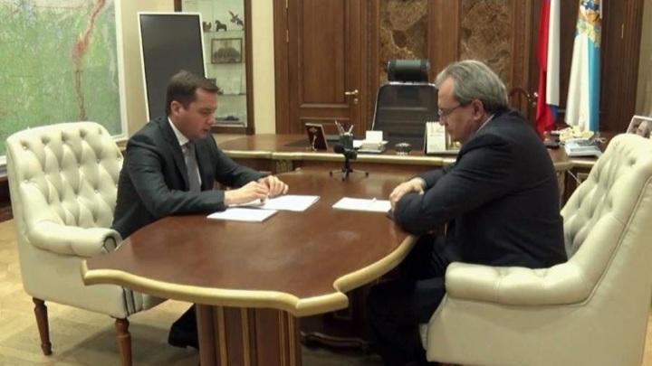 Следить за выборами на пост губернатора Архангельской области прибыл советник президента