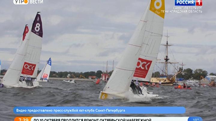 В Петербурге прошел третий этап Высшего дивизиона Национальной парусной Лиги
