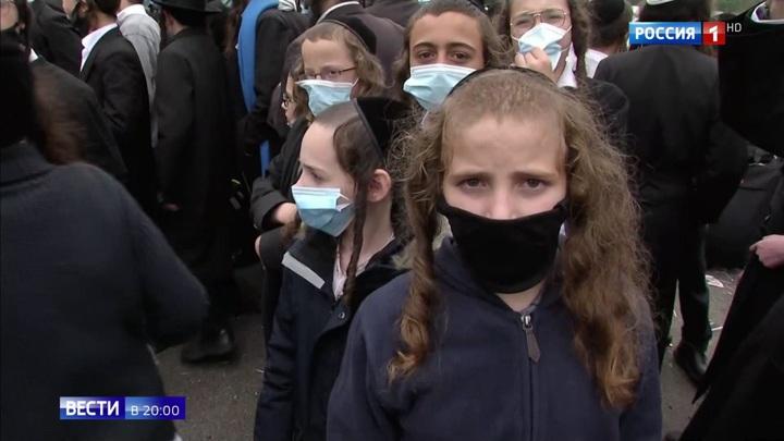 Более 700 хасидов застряли на границе: Украина не пускает верующих к святыне