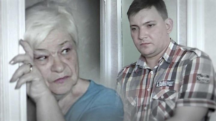 """Кадр из программы """"Андрей Малахов. Прямой эфир"""". Жене – 73, мужу – 32: неравный брак трещит по швам"""