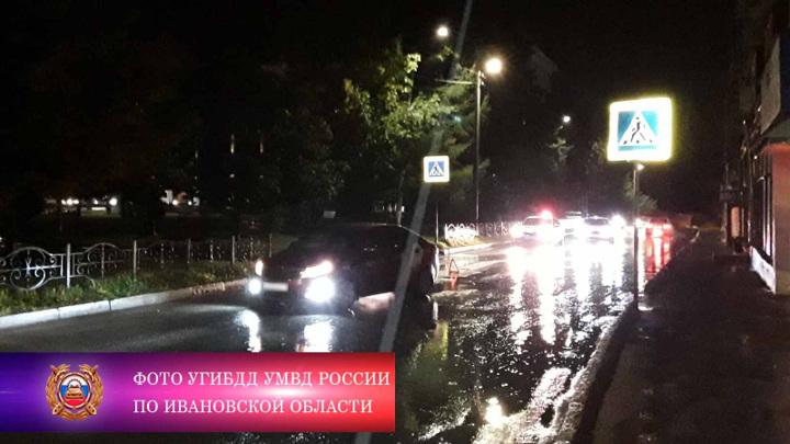 """В Иваново водитель такси сбил на """"зебре"""" 18-летнего пешехода"""