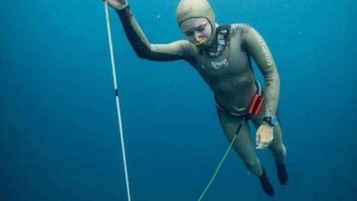 В Кабардино-Балкарии зафиксирован мировой рекорд по фридайвингу