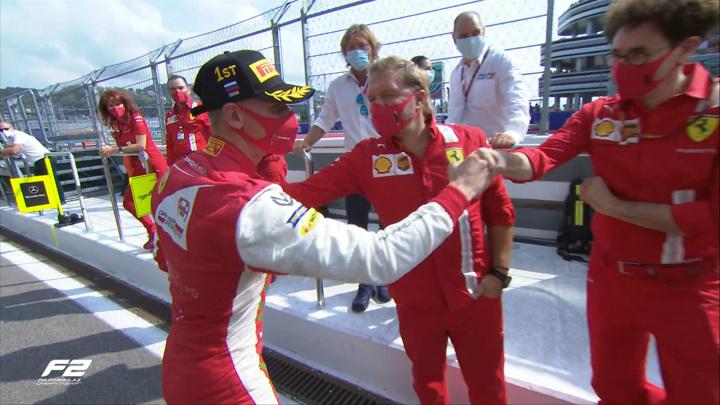 Формула-2. Шумахер-младший выиграл первую гонку Гран-при России