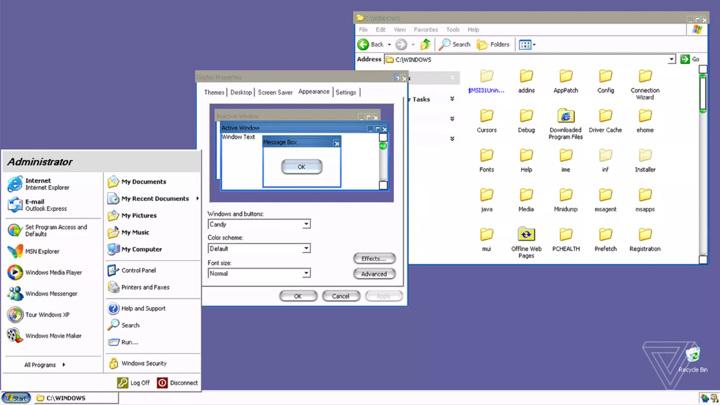 Секретная тема делала Windows XP похожей на Mac
