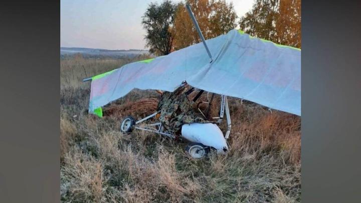 Мотодельтаплан рухнул при взлете в Самарской области