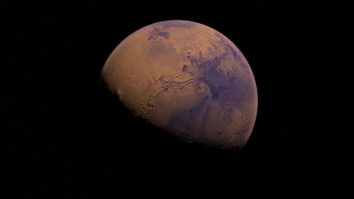 Томичи невооруженным глазом смогут увидеть Марс в ночном небе
